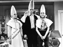 photo of SNL conehead famil